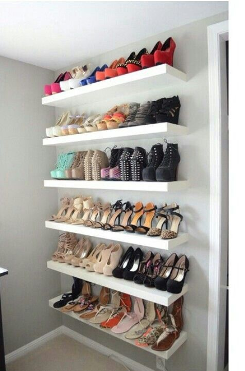 50 Creative and Unique Shoe Rack Ideas For Small Spaces (With .