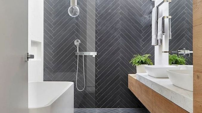 Must See Bathroom Tiles Ideas - How to Configure It in Small Space .