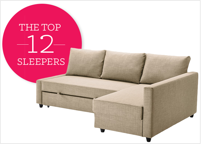 12 Affordable (And Chic) Small Sleeper Sofas For Tight Spac