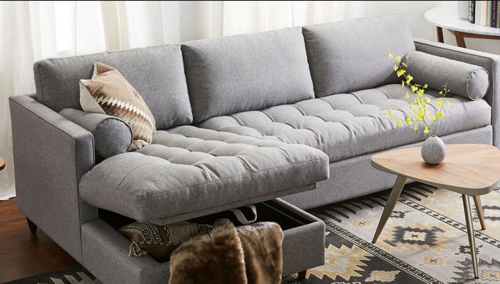 17 Storage Sofas And Sectionals For Small Spaces | HuffPost Li