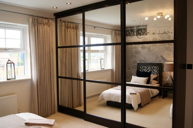 The Cliveden Grange fitted with Draks Sliding Wardrobe Doors | Dra