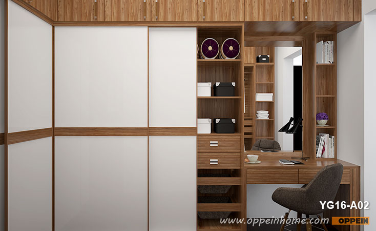 Glossy Sliding Wardrobes & Walk-in Closets | OPPE