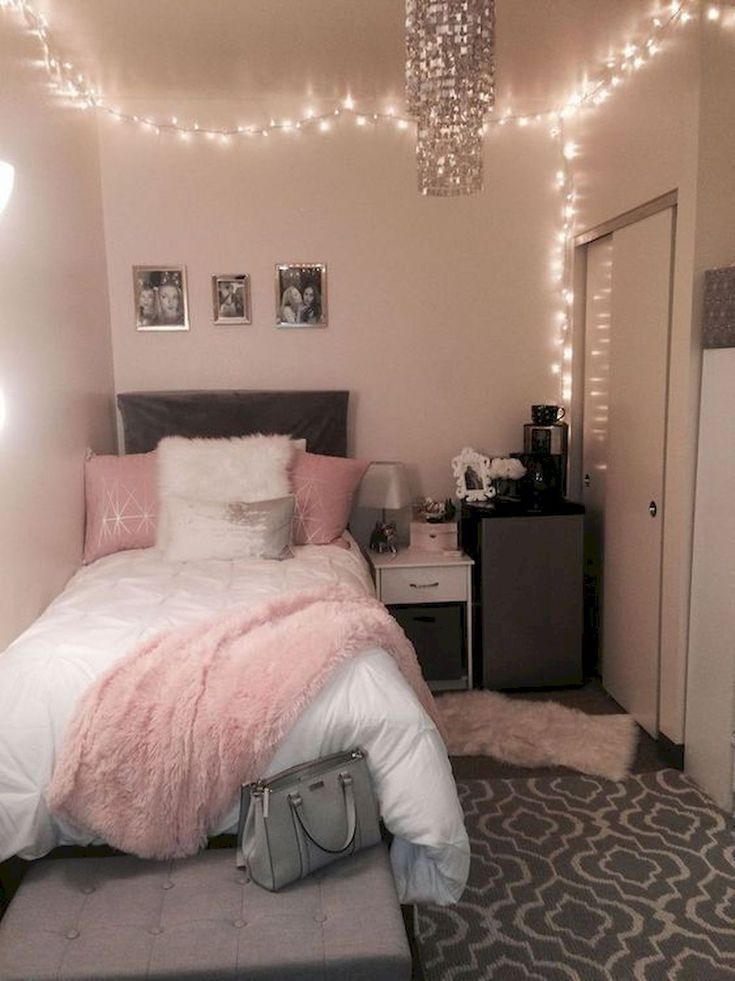 40 Cute Small Bedroom Design and Decor Ideas for Teenage Girl .