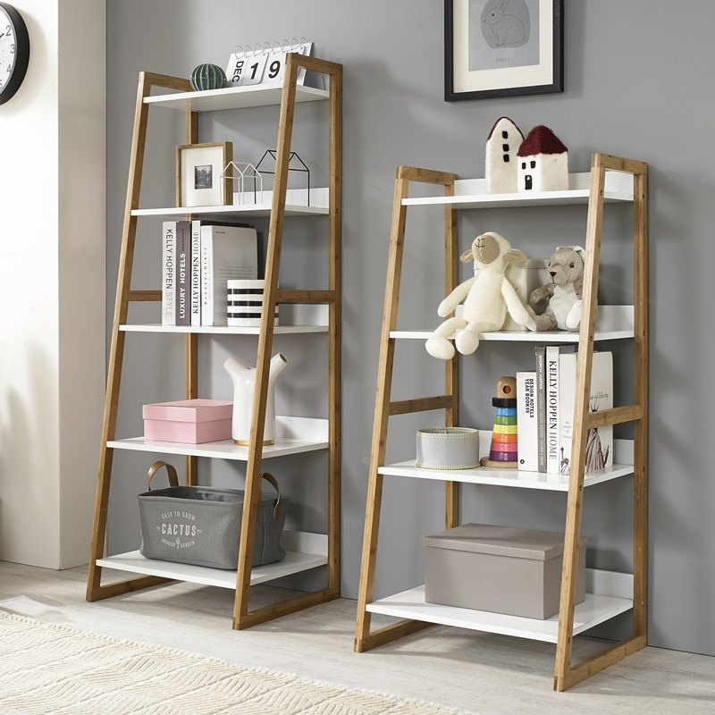 Louis Fashion Bookcases Solid wood shelf living room landing .