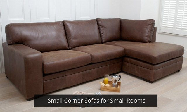 Small Corner Sofas for Small Rooms | Darlings of Chelsea Design Bl