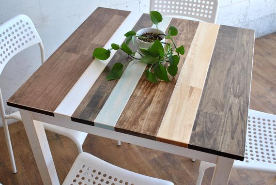 Made-To-Order Farmhouse Breakfast Table Small Dining Table | Et