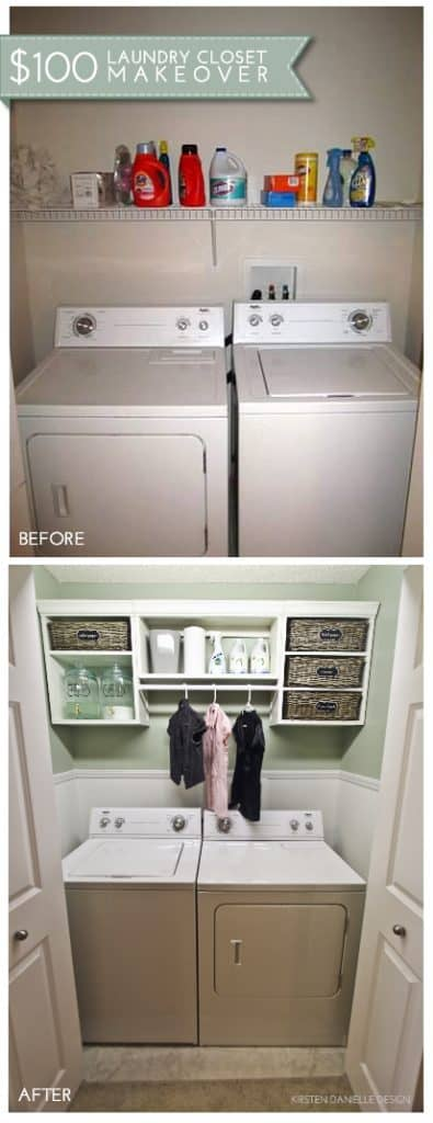 Small Laundry Room Organization Ideas – Sunny Home Creatio