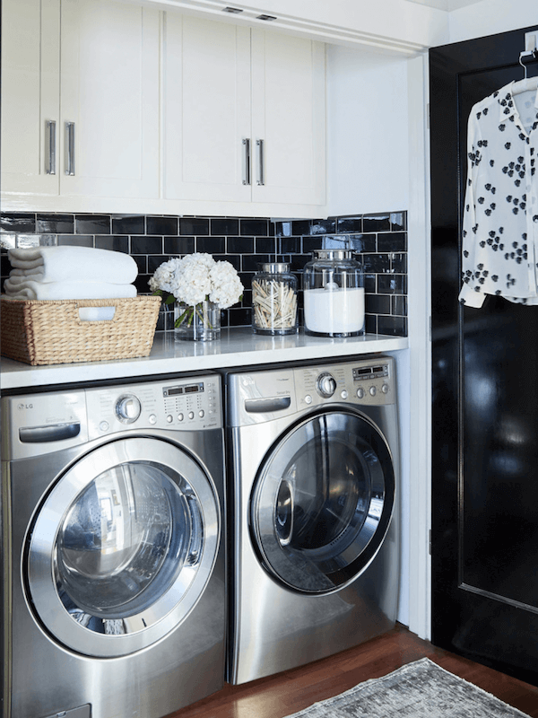 6 Hacks to Maximize Space in Your Small Laundry Ro