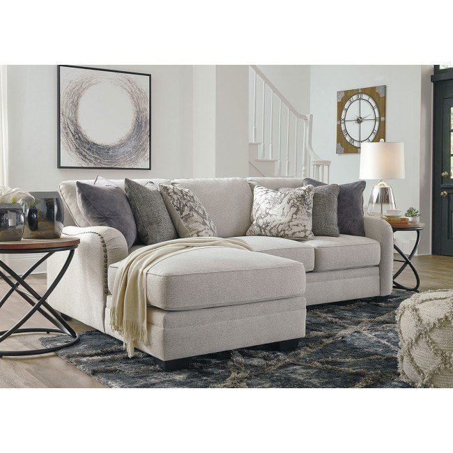 Dellara Chalk Modular Small Sectional by Signature Design by .