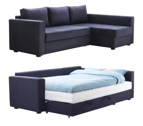 MANSTAD Sofa Bed with Storage from IKEA | Sofa bed with storage .