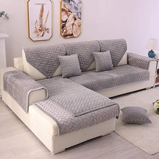 Amazon.com: TEWENE Couch Cover, Sofa Cover Couch Covers Sectional .