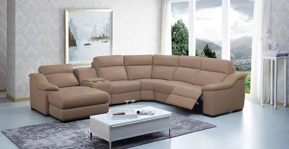 Inspired sectional sofas with recliners in Living Room Modern with .