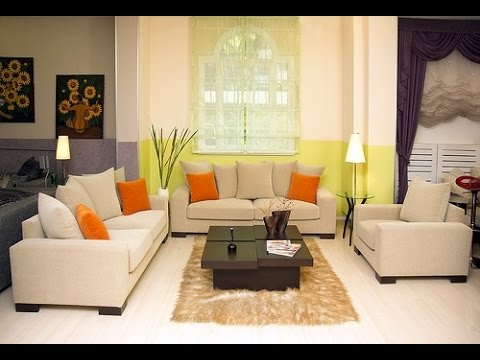 small double sofa bed design decorating ideas in living room - YouTu