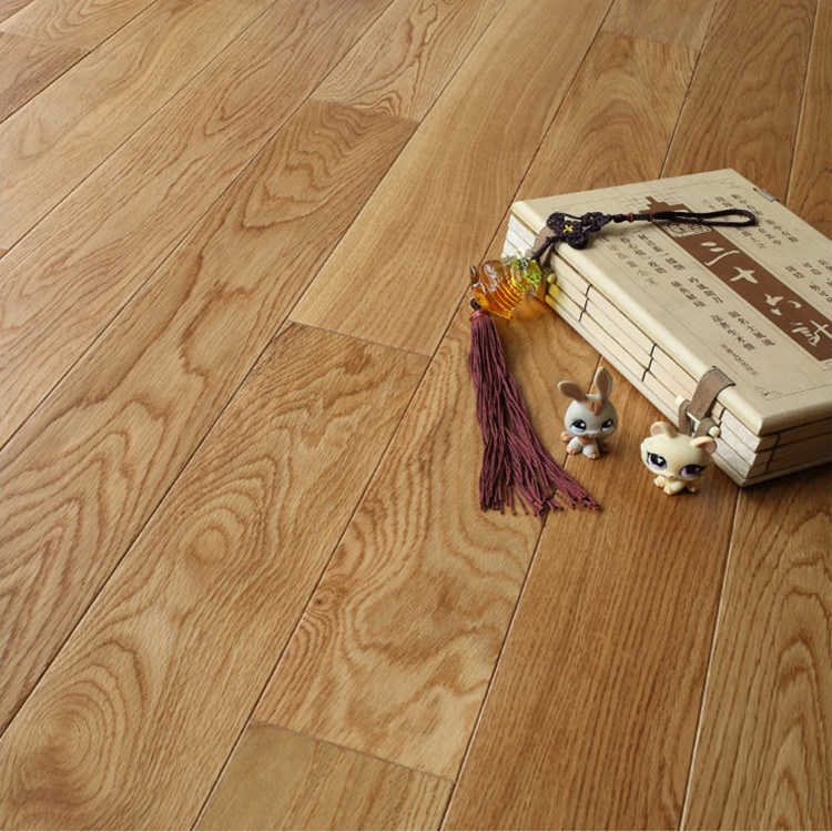 China Rustic Pre-Finished Solid Oak Flooring Factory Price - China .