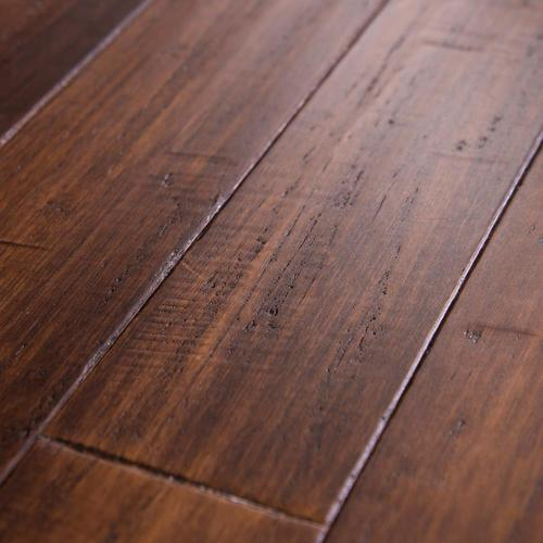 Cali Bamboo Fossilized 3.75-in Bordeaux Bamboo Solid Hardwood .