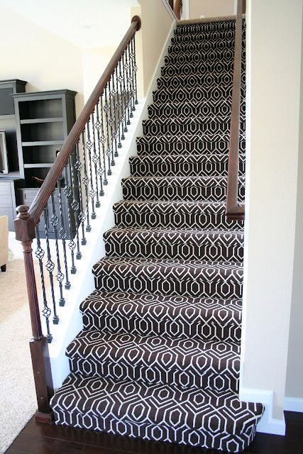 Stair carpet | Carpet staircase, Patterned stair carpet, Stairway .