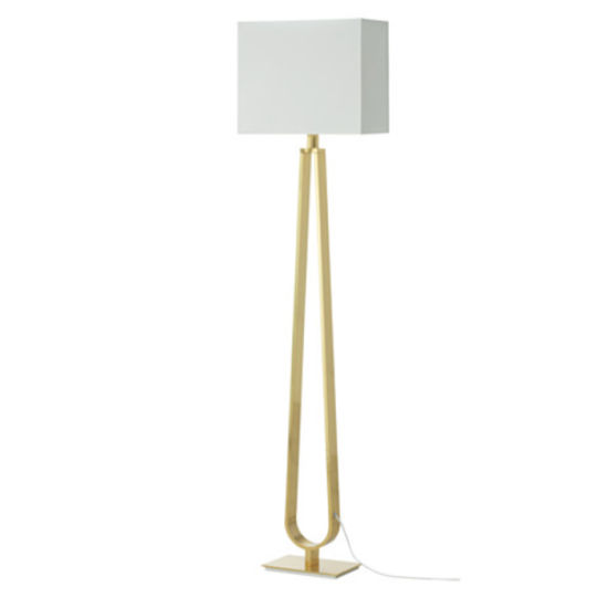 China Post Modern Hotel Gold Bedside Standing Floor Lamp Lamps .