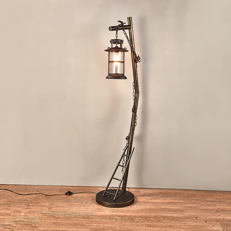 American Country Floor Lamp Vintage Industrial Standing Lamps for .