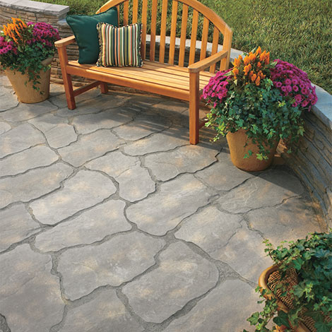 Patio Stone Pavers: Natural Impressions Stone Foot Not