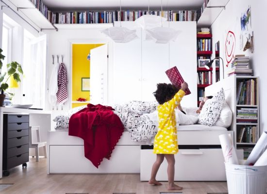 Small Bedrooms Storage Solutions and Decoration Inspirati