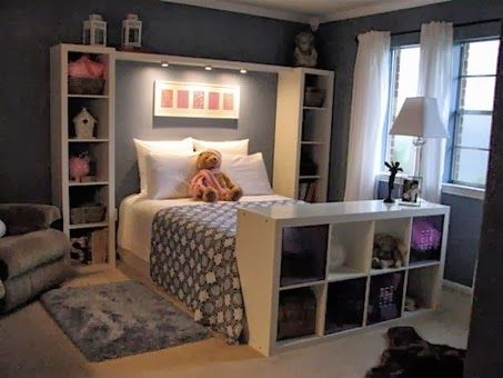 2014 Clever Storage Solutions for Small Bedrooms | Home bedroom .