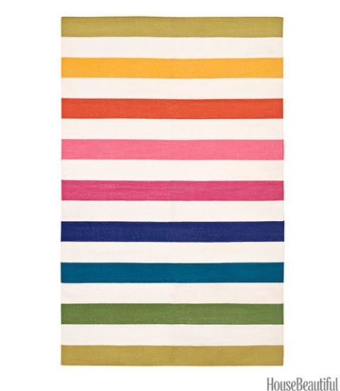 Colorful Striped Rugs - Patterned Rugs with Strip