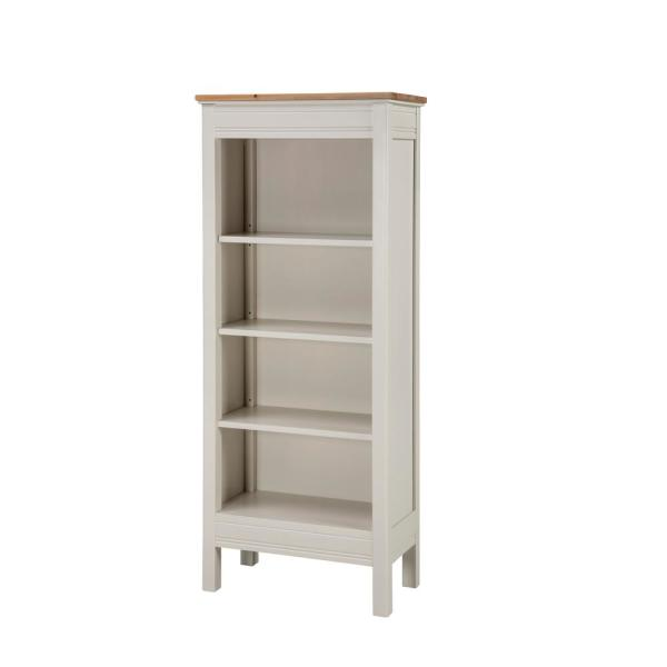 Alaterre Furniture Savannah Ivory with Natural Wood Top Tall .