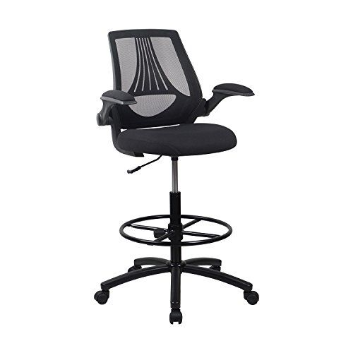 LCH Ergonomic Drafting Chair/Mesh Office Chair Adjustable Height .