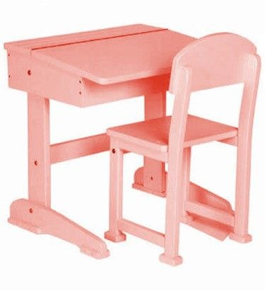 Saplings Pink Toddler Desk and Chair | Toddler desk and chair .