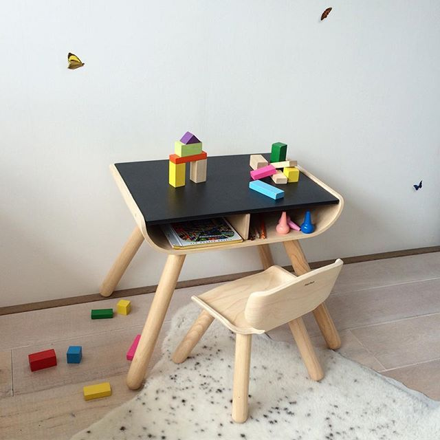 Suitable for 1,5 - 5 years, this plantoys desk and chair. Your .