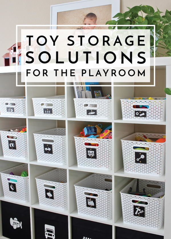 Toy Storage Solutions for the Playroom | The Homes I Have Ma