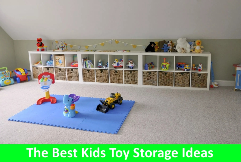 The Best Kids Toy Storage Ideas - Early Childhood Education Zo