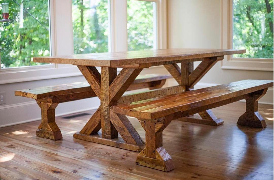 Trestle Table - Sons of Sawdu