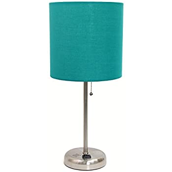 Limelights LT2024-TEL Stick Brushed Steel Lamp with Charging .