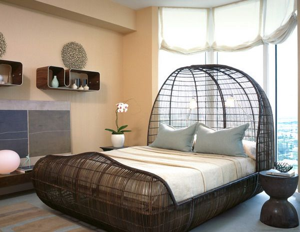 19 Cool & Unique Bed Designs That You Must See | Unique bedroom .