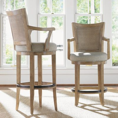 Upholstered Swivel Bar Stools With Backs: Kitchen and Elsewhere .