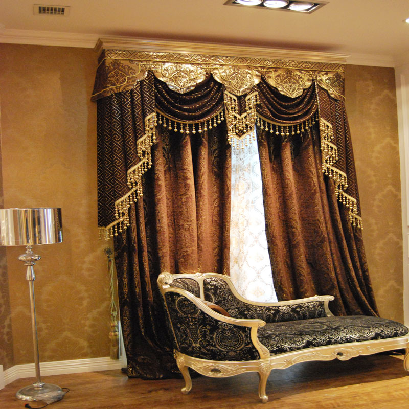 Very Attractive Living Room Curtains with Valance — Oscarsplace .