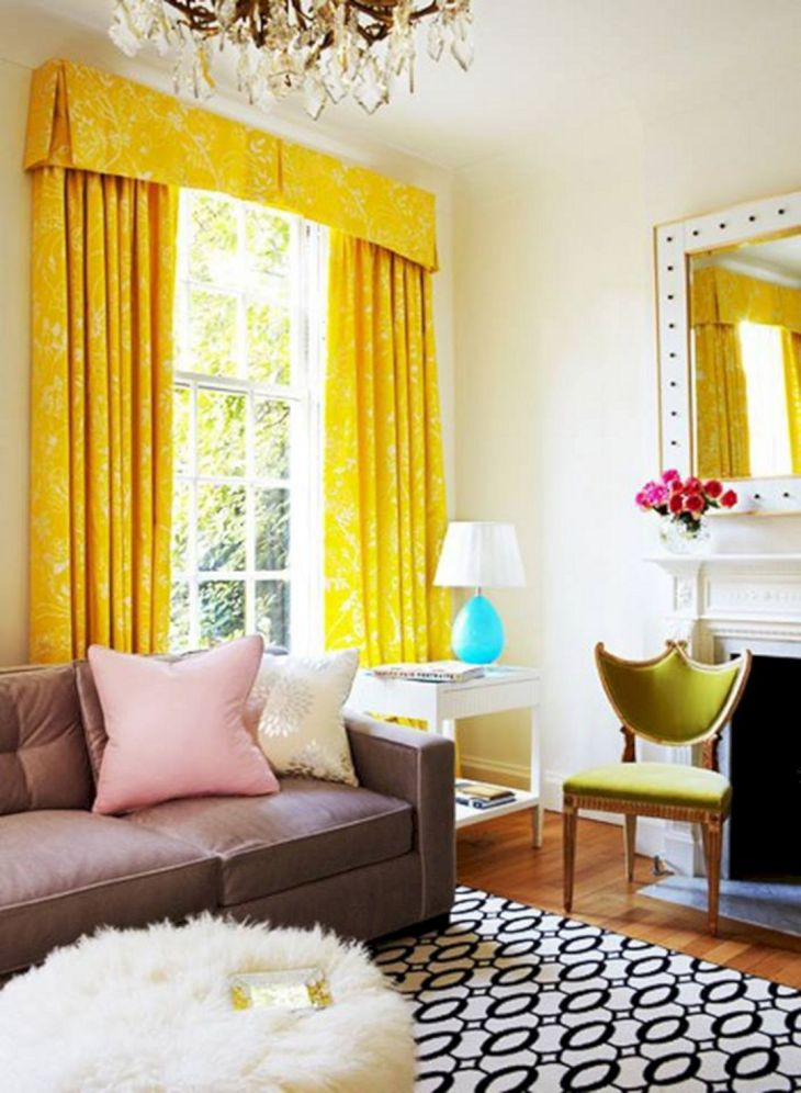 Top 25 Wonderful Living Room Curtain with Valance Ideas to Make .