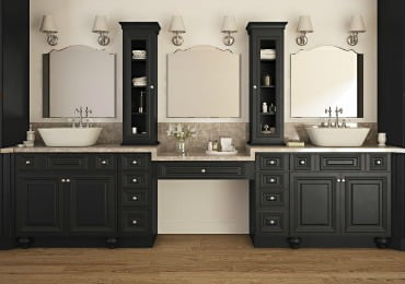 Ready To Assemble & Pre-Assembled Bathroom Vanities & Cabinets .