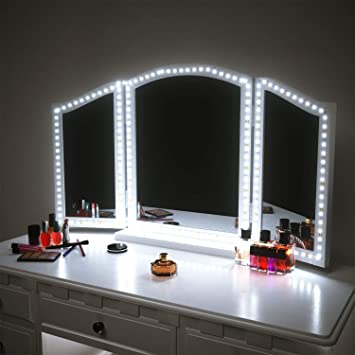 Amazon.com: LED Vanity Mirror Lights for Makeup Dressing Table .