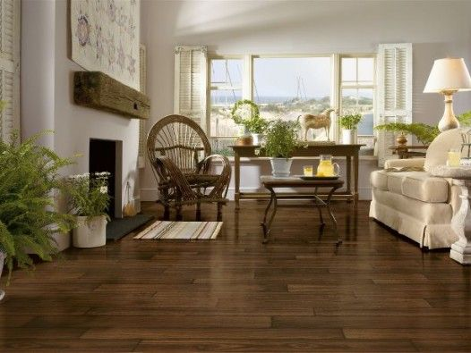 VINYL Sheet Flooring: This bloggers in-laws just installed a vinyl .