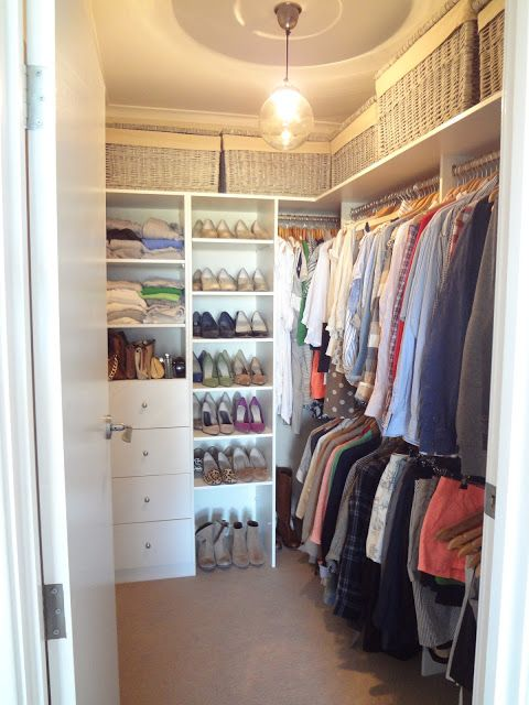 20 Incredible Small Walk-in Closet Ideas & Makeovers   Closet .