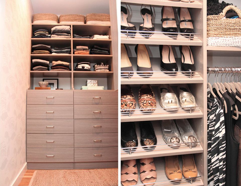 21 Best Small Walk-in Closet Storage Ideas for Bedroo