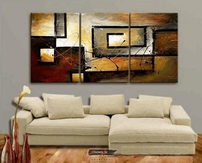 Abstract Painting, Canvas Painting, Living Room Wall Art, Modern .