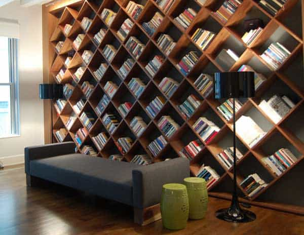 24 Insanely Beautiful Wall Bookshelves For Enthusiast Readers .