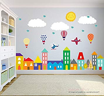 Kids wall decals | In Deco