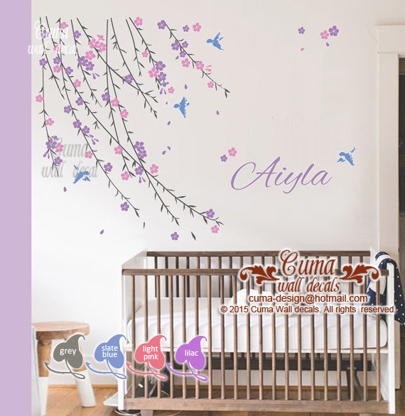 Wall decals for nursery | In Deco