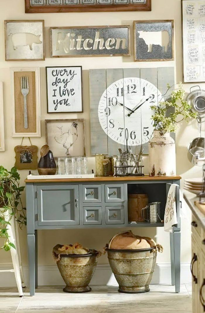 Kitchen Wall Decor Ideas (DIY and Unique Wall Decoration .