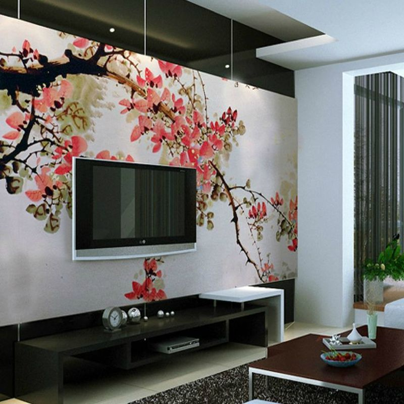 23 Amazing TV Wall Decor Ideas for Living Room - Deconeat.c