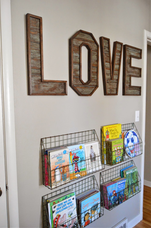 41 Amazing DIY Architectural Letters for Your Wal